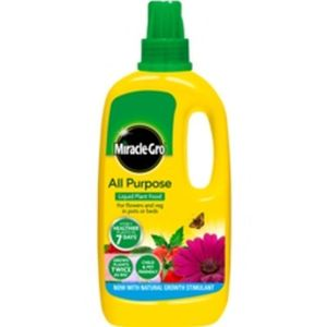 Miracle-Gro All Purpose Liquid Plant Food Concentrate 1ltr