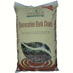 Coolings Decorative Bark Chips 80ltr