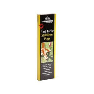 Tom Chambers Bird Table Stabiliser Pegs (4 Pack)