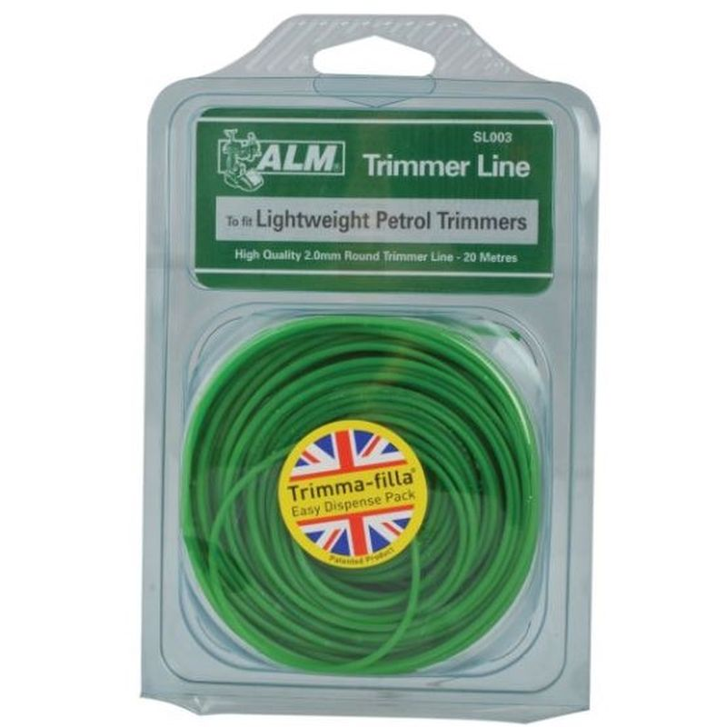 ALM Trimmer Line Green 2mm x 20m
