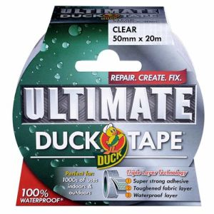 Duck Ultimate Clear Tape 50mm x 20m