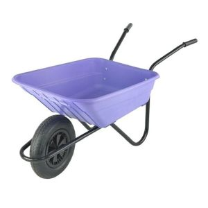 Walsall Shire 90L Barrow Lilac Pneumatic