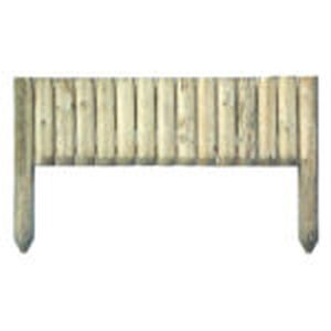 Grange Green Log Edging Board 30cm