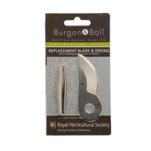 Burgon & Ball Rhs Replacement Blade/Spring For Prof Comp Bypass Secate