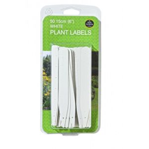 "Garland 15cm (6"")white Plant Labels (50)"