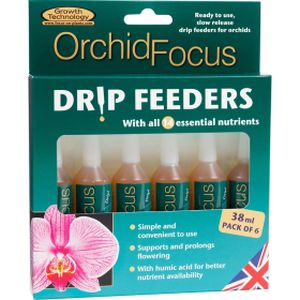 Growth Technology Orchid Focus Drip Feeders 6x38ml