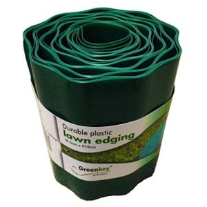 Greenkey Lawn Edge Plastic Lawn Edging 16.5cm x 910cm