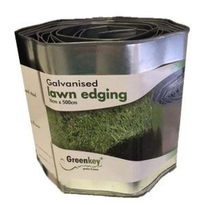 Greenkey Lawn Edge Metal Edging 16cm x 500cm