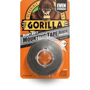 Gorilla Mounting Tape Black
