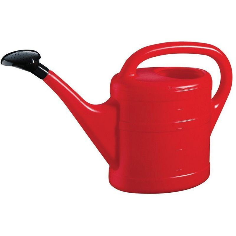 Green Wash Watering Can Green 5L Red