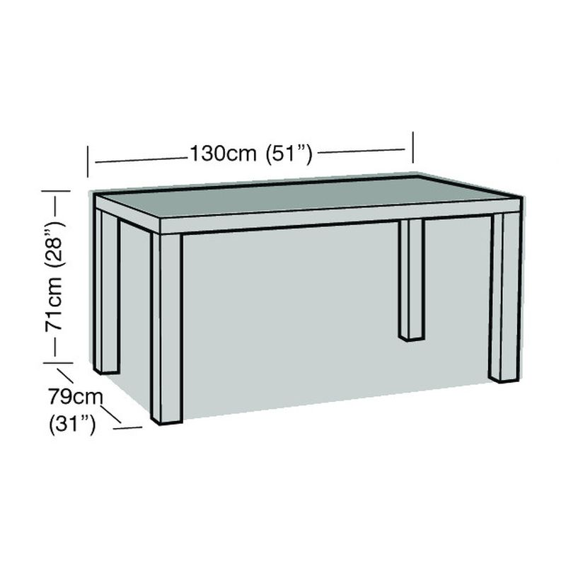 Garland 4 Seat Rectangular Table Cover