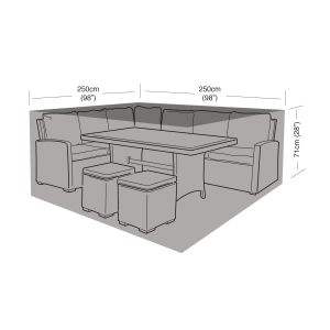 Garland Small Square Casual Dining Set Cover