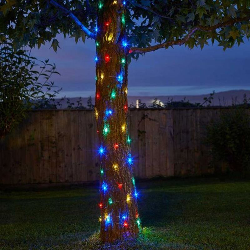 100 Multi-Coloured Firefly String Lights