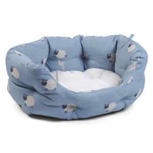 Zoon Counting Sheep Oval Dog Bed - Xl