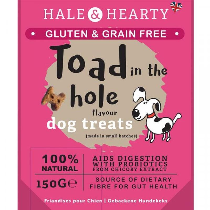 Zoon Hale & Hearty Toad In The Hole Grain Free 150g