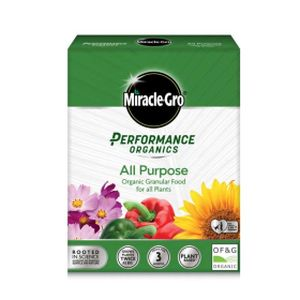 Miracle-Gro Performance Organics All Purpose Plant Food Granular 1kg