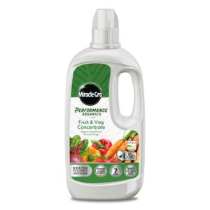 Miracle-Gro Performance Organics Fruit & Veg Food Liquid 1 Litre