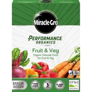 Miracle-Gro Performance Organics Fruit & Veg Food Granular 1kg