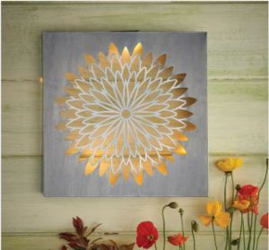 Cole and bright Meadow Collect Solar Daisy Wall Art