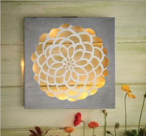Cole and Bright Meadow Collect Solar Dahlia Wall Art