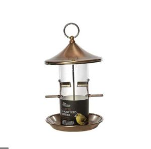Chambers Copper 2-Port Seed Feeder