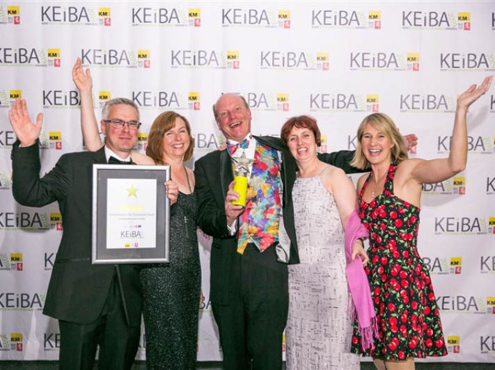Winning the KEiBA Commitment to the Environment Award in 2019