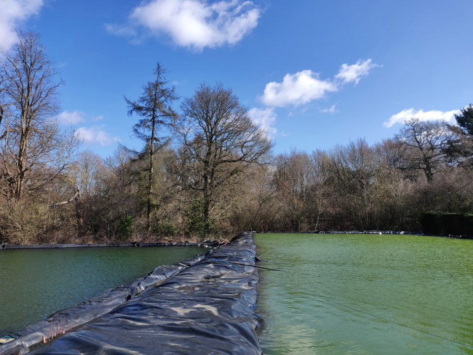 Our reservoirs at Coolings The Gardener's Garden Centre, Rushmore Hill