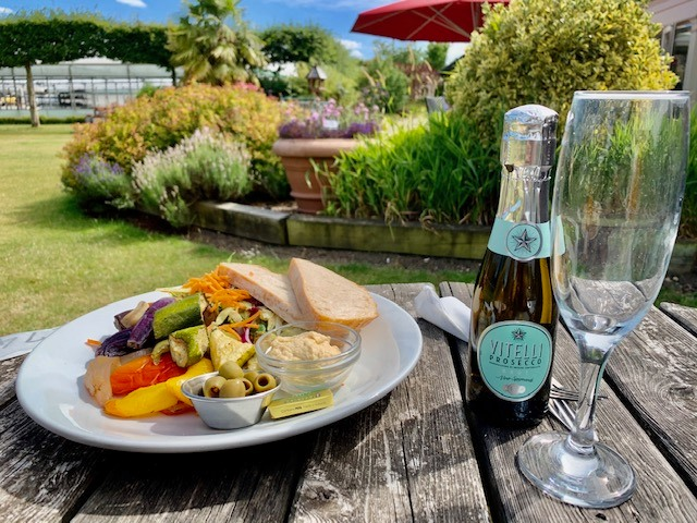 Food at Arthurs Restaurant, Coolings The Gardener's Garden Centre, Rushmore Hill (please note alcohol is exempt from the Eat Out to Help Out Scheme)